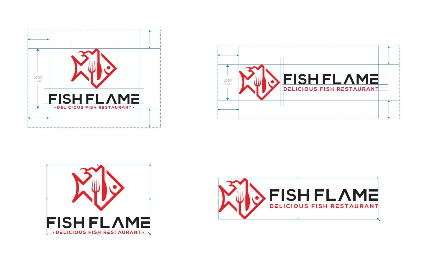 Logo Edge, clear space and Resizing