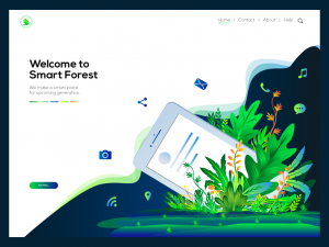 Illustration for Smart Forest