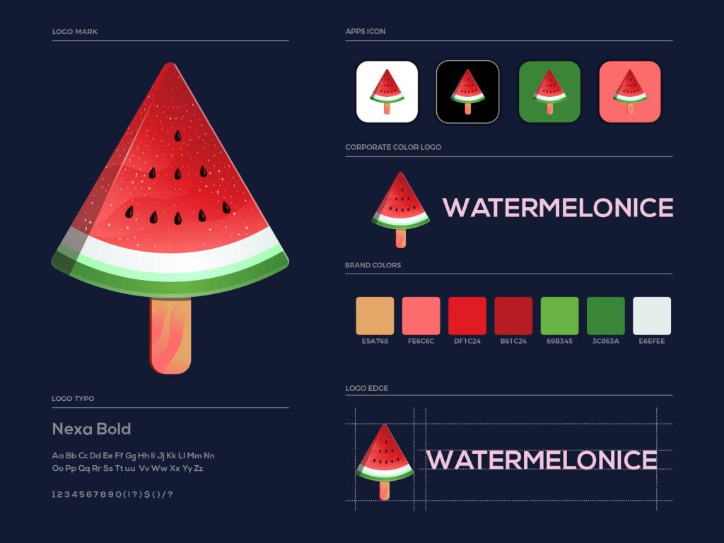 Watermelonice Logo Project