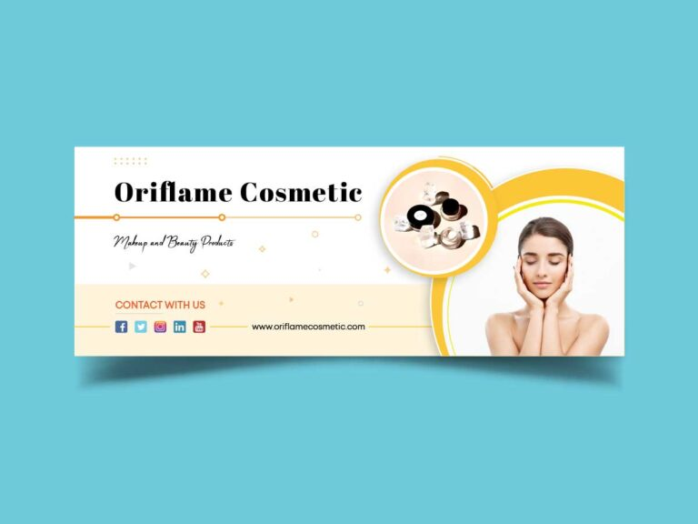 Facebook Cover for Cosmetics Brand