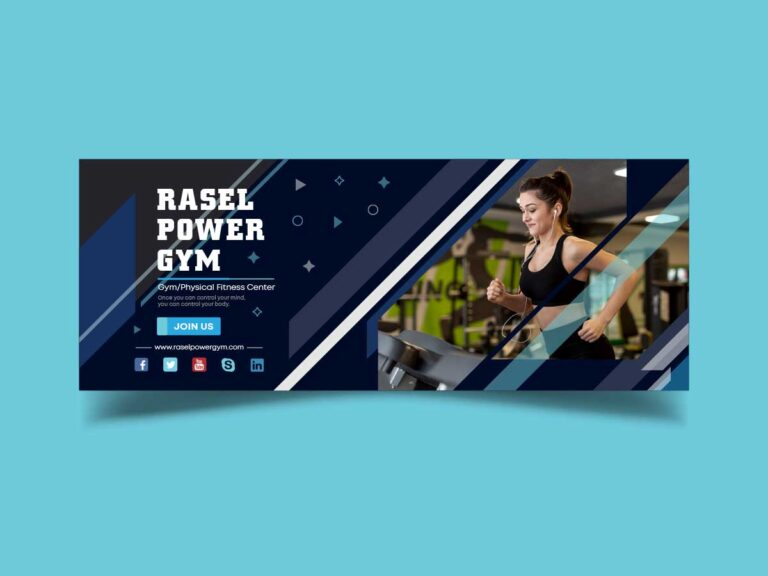 Facebook Cover for Gym